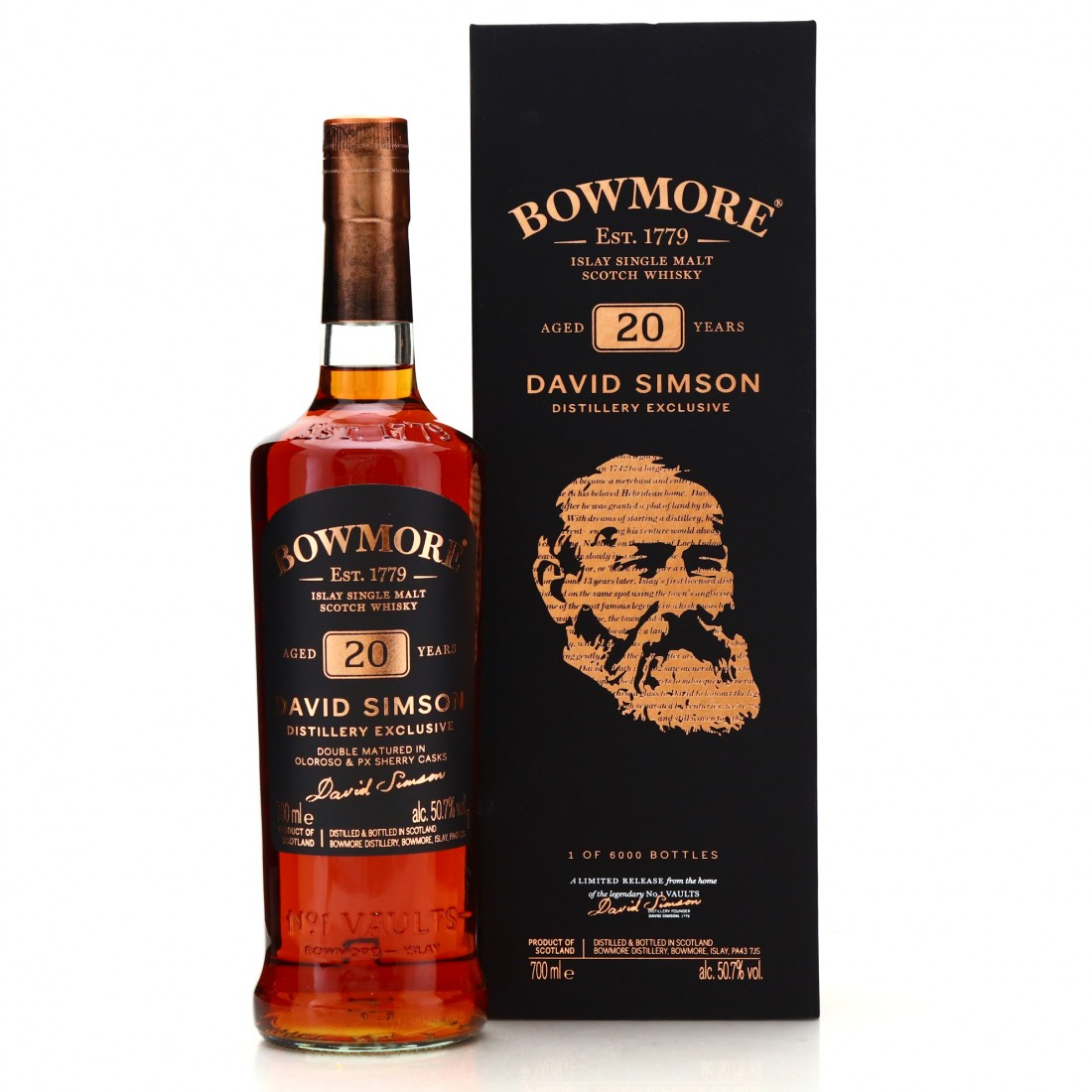 Bowmore 20 Year Old David Simson / Distillery Shop
