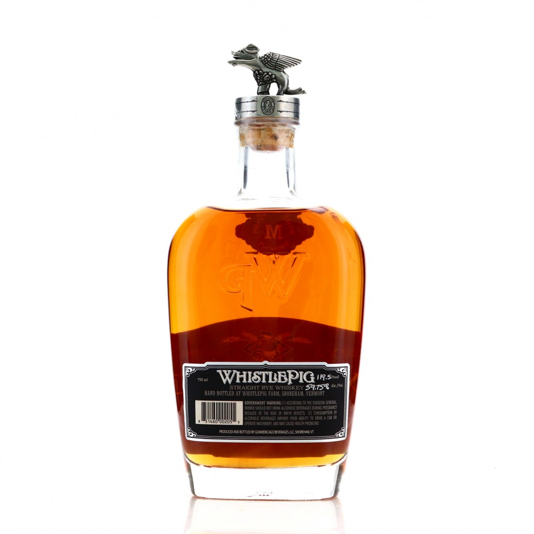 Whistlepig 13 Year Old Single Barrel Rye / The Boss Hog 2nd Edition