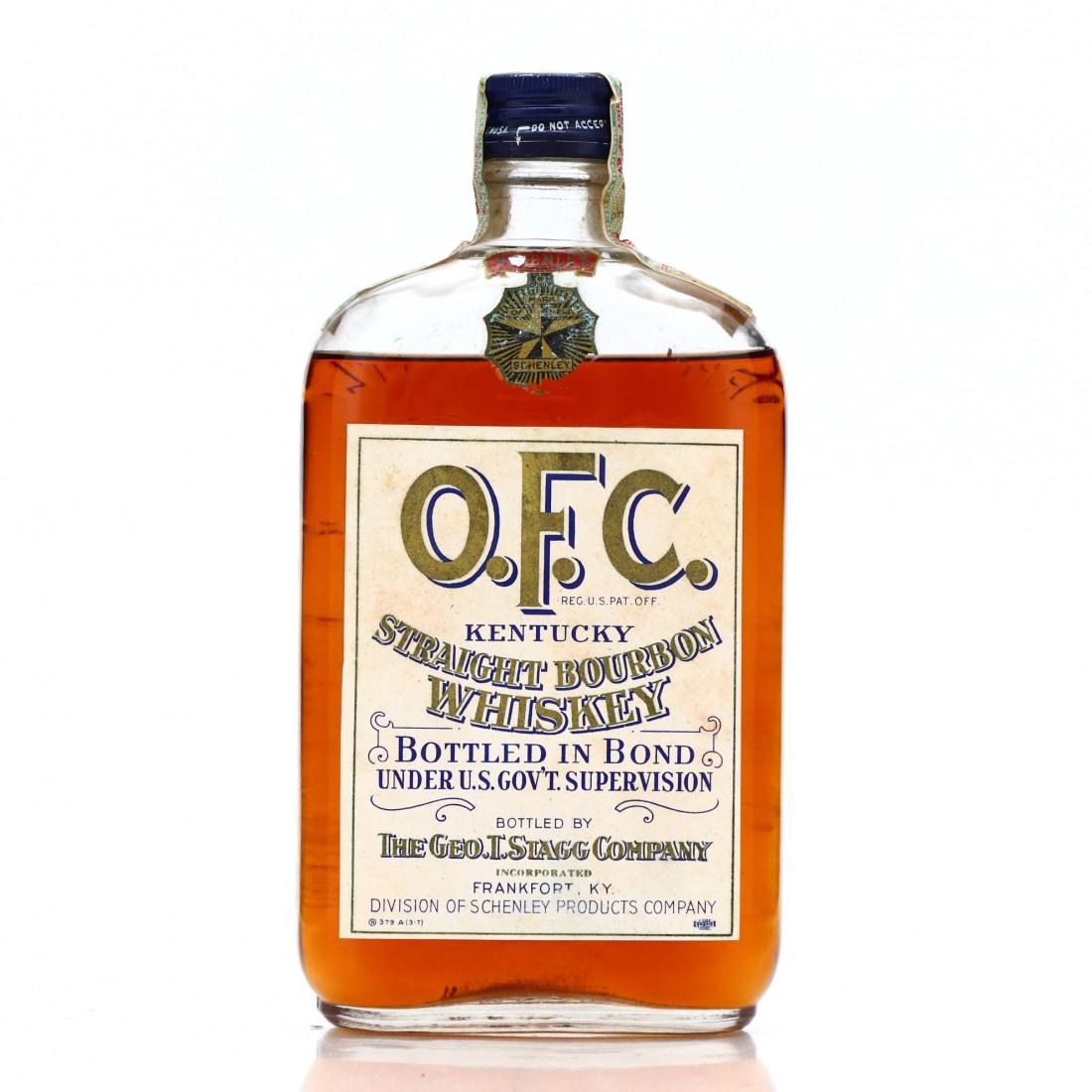 OFC 1916 Bottled in Bond Bourbon / Prohibition Era Bottling