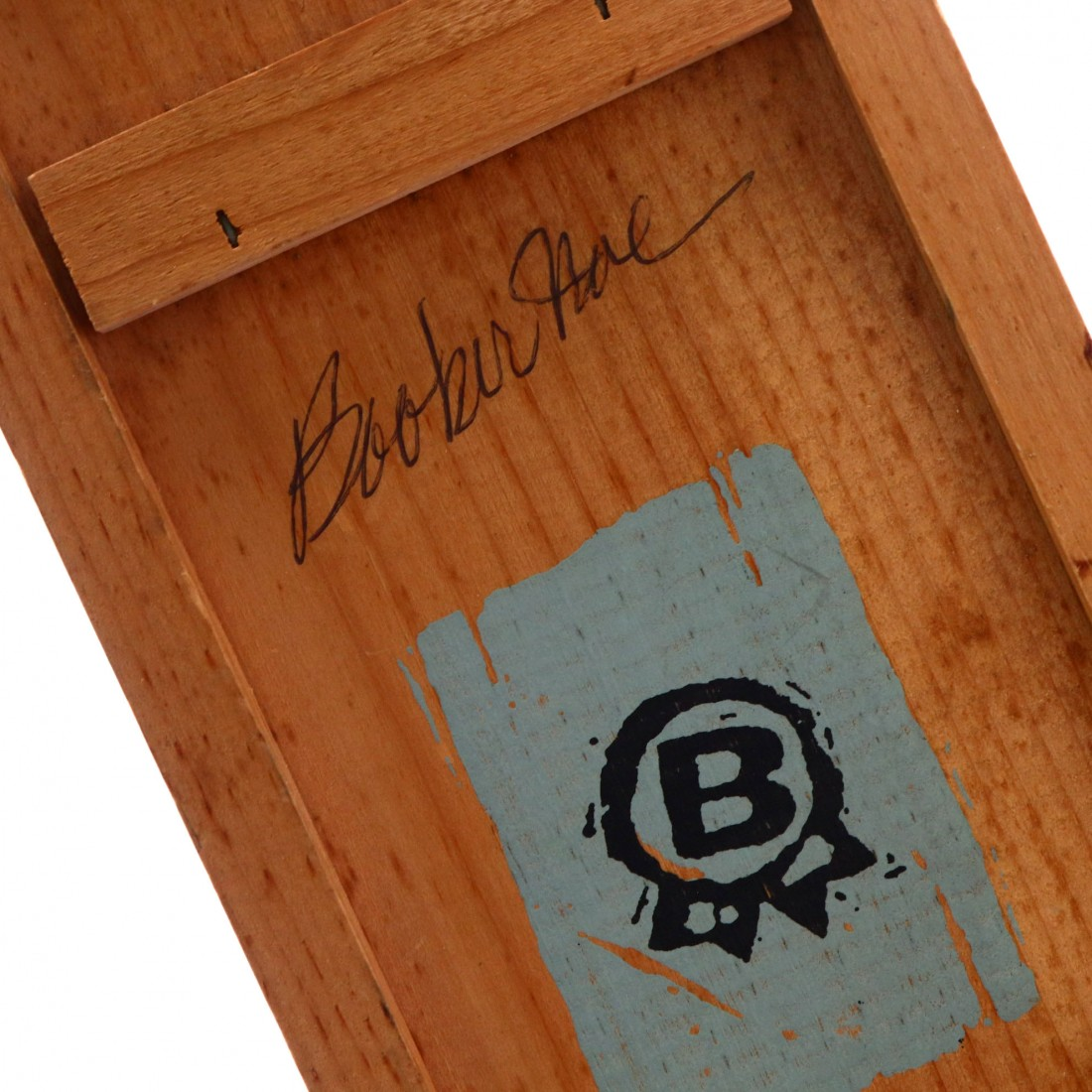 Booker's 7 Year Old Kentucky Straight Bourbon #C-E-15-84 / Signed
