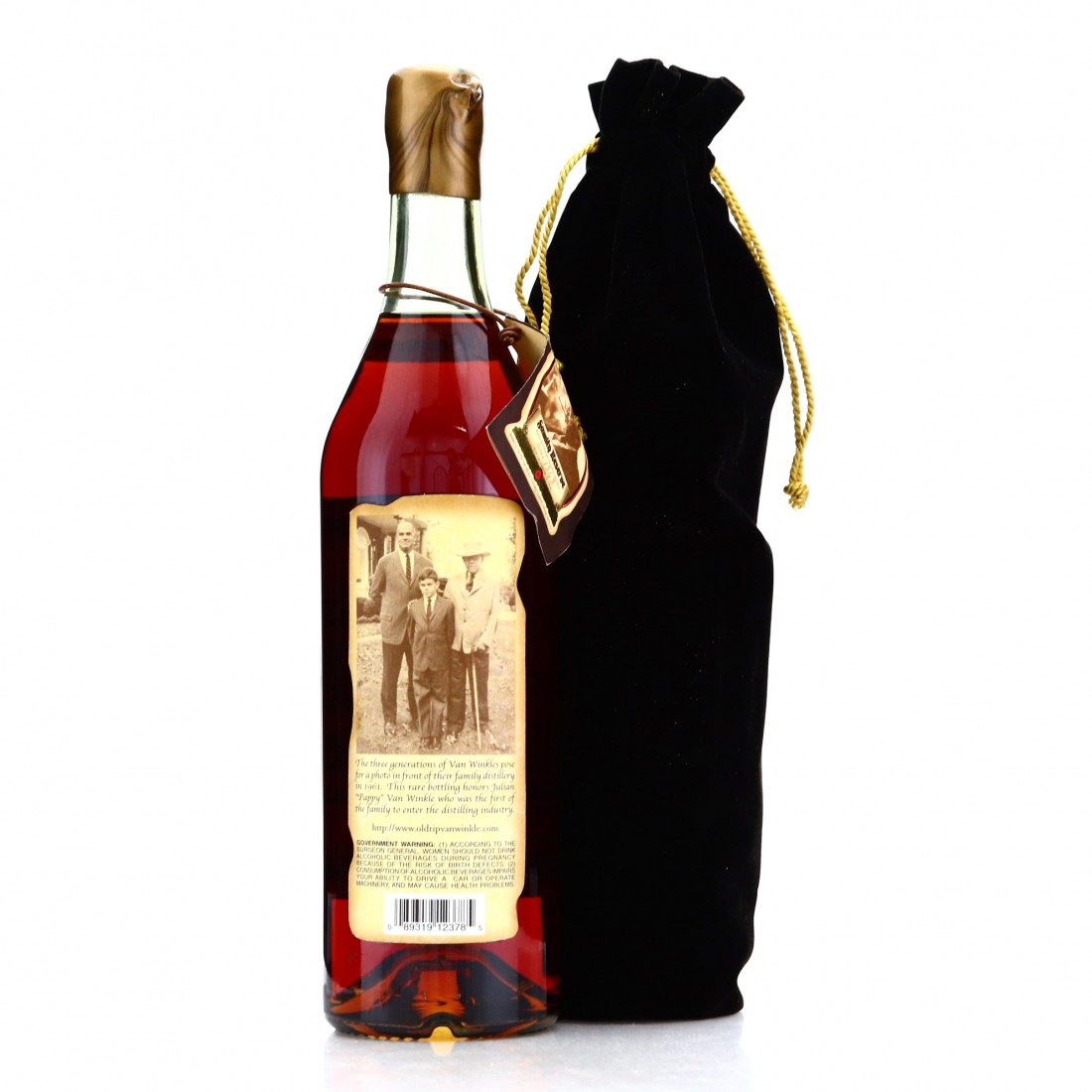 Pappy Van Winkle 23 Year Old Family Reserve 1999 / Gold Wax First Release