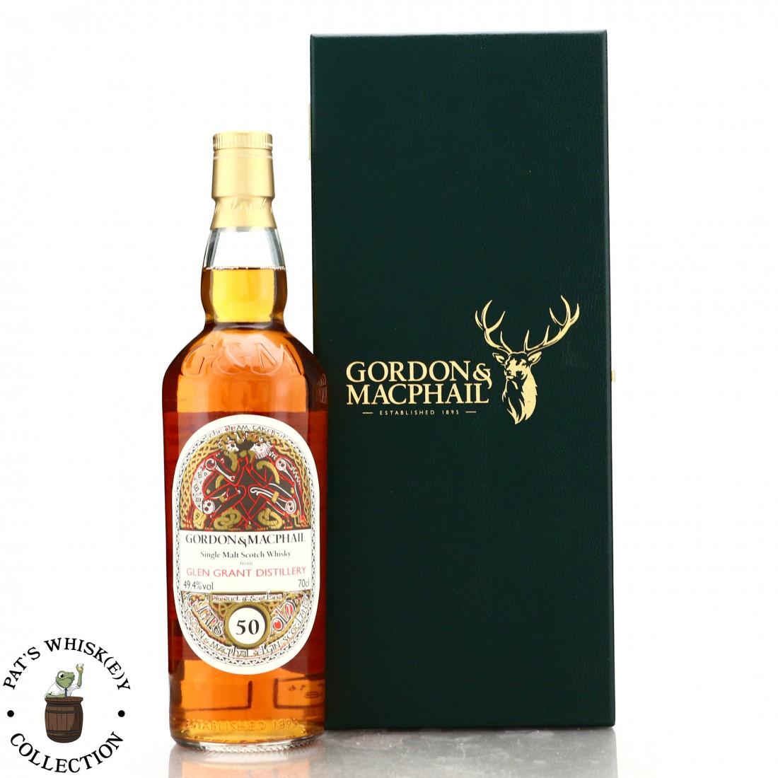 Glen Grant 50 Year Old Gordon and MacPhail 'Book of Kells' / TWE