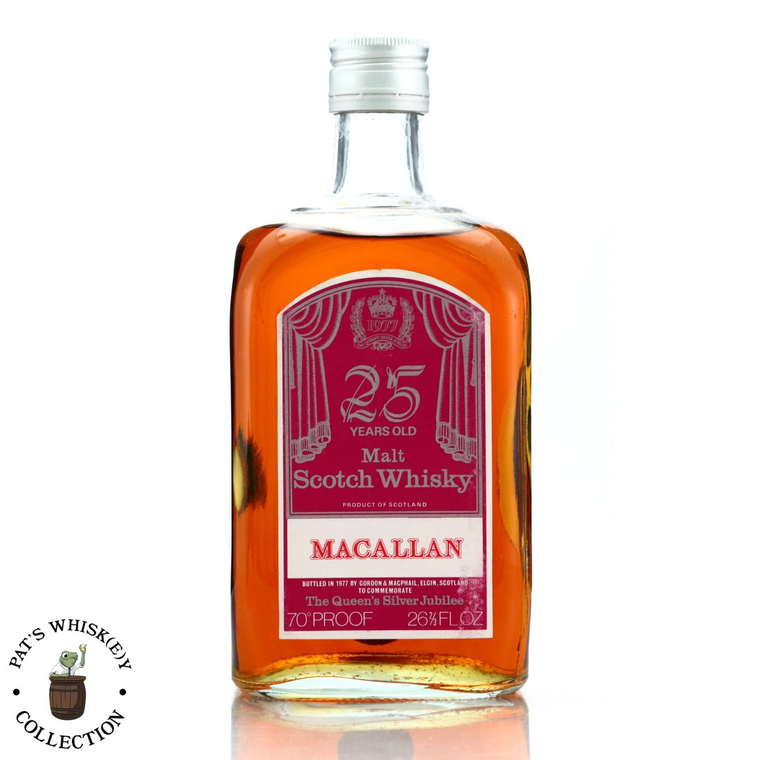 Macallan 25 Year Old Gordon and MacPhail Queen's Silver Jubilee 1977