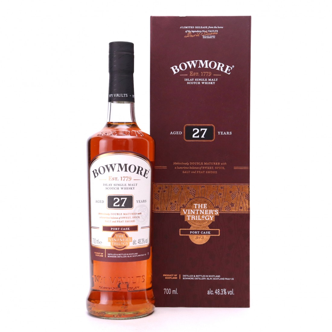 Bowmore 27 Year Old The Vintner's Trilogy III / Port Cask