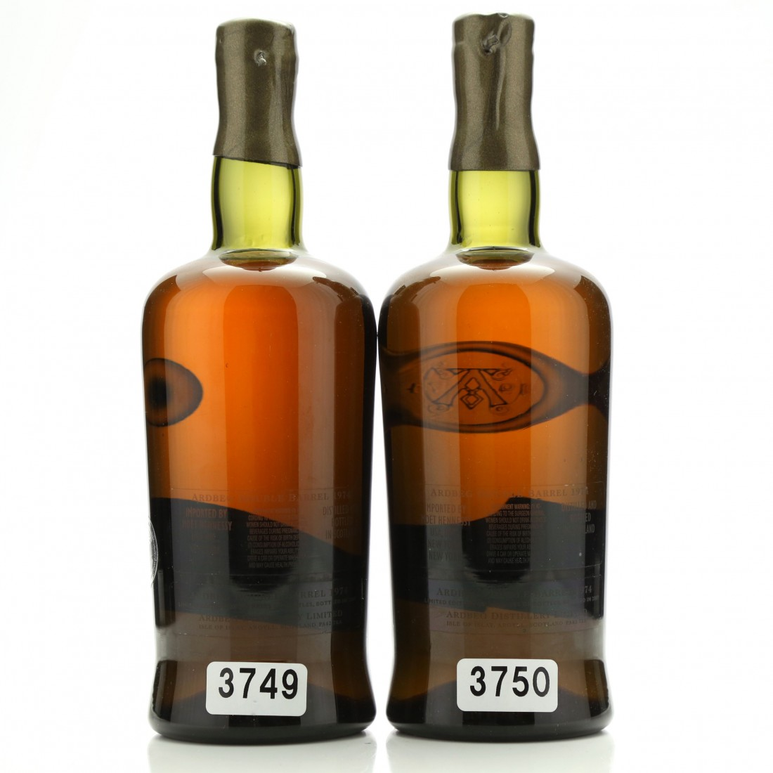 Ardbeg 1974 Double Barrel 2 x 75cl / US Import