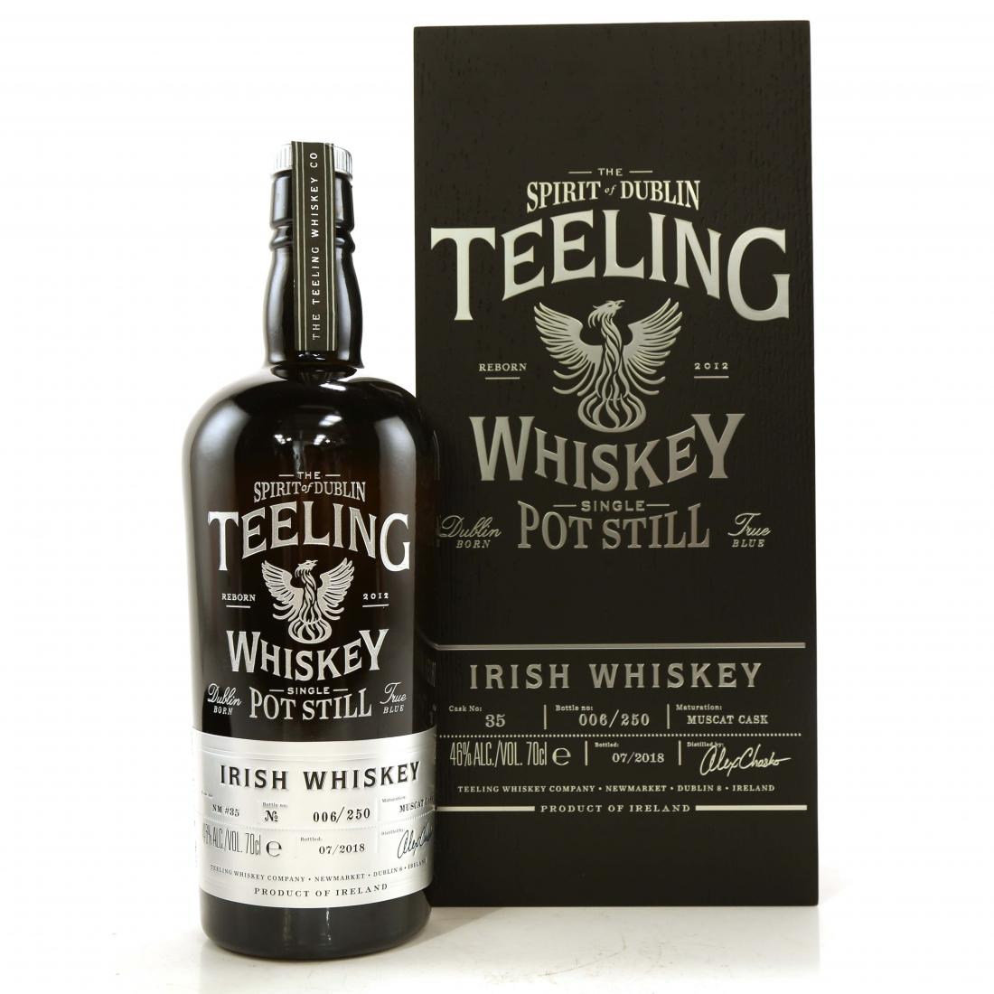 Teeling Celebratory Single Pot Still Whiskey / Bottle #006