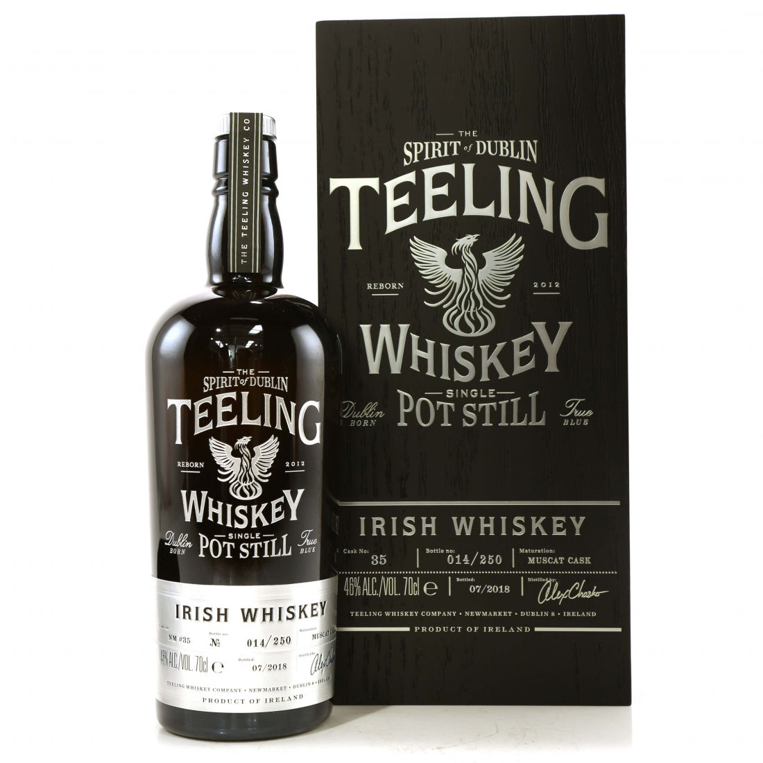 Teeling Celebratory Single Pot Still Whiskey / Bottle #014