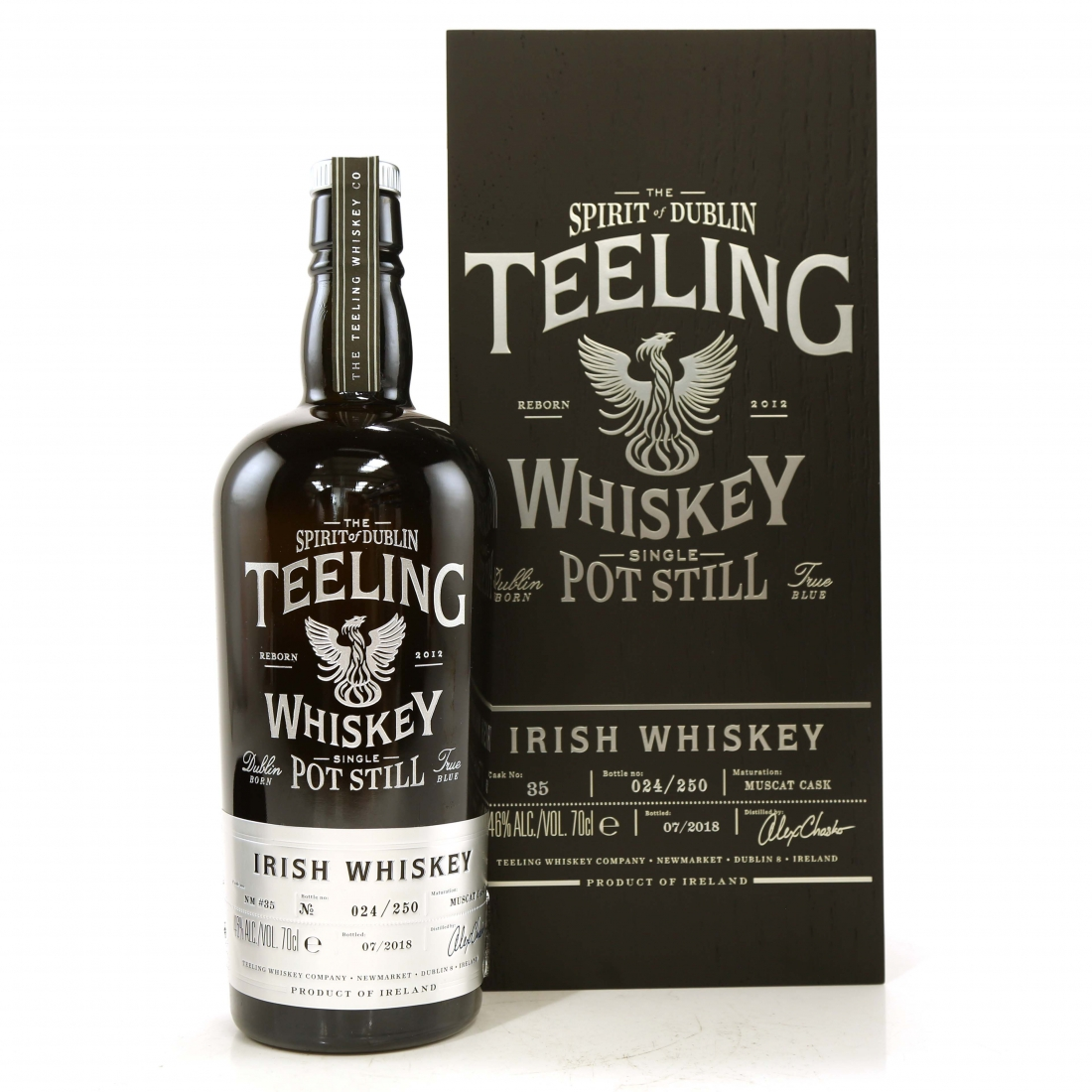Teeling Celebratory Single Pot Still Whiskey / Bottle #024
