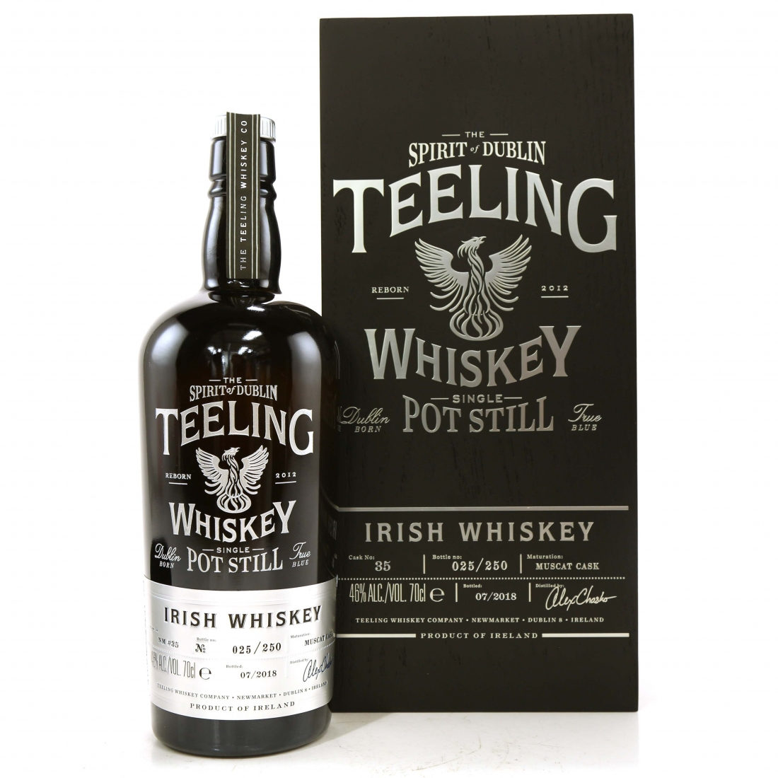 Teeling Celebratory Single Pot Still Whiskey / Bottle #025