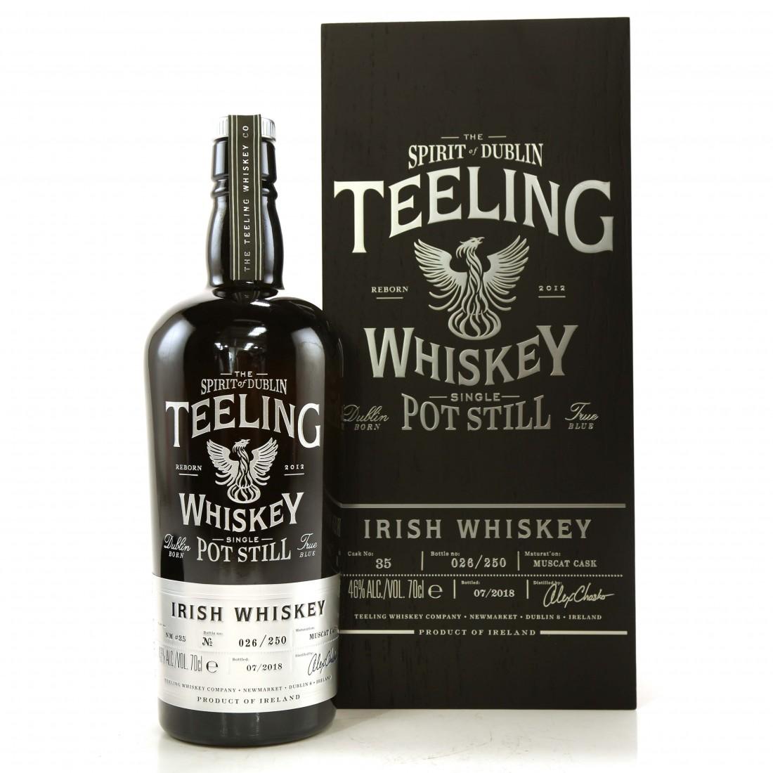 Teeling Celebratory Single Pot Still Whiskey / Bottle #026