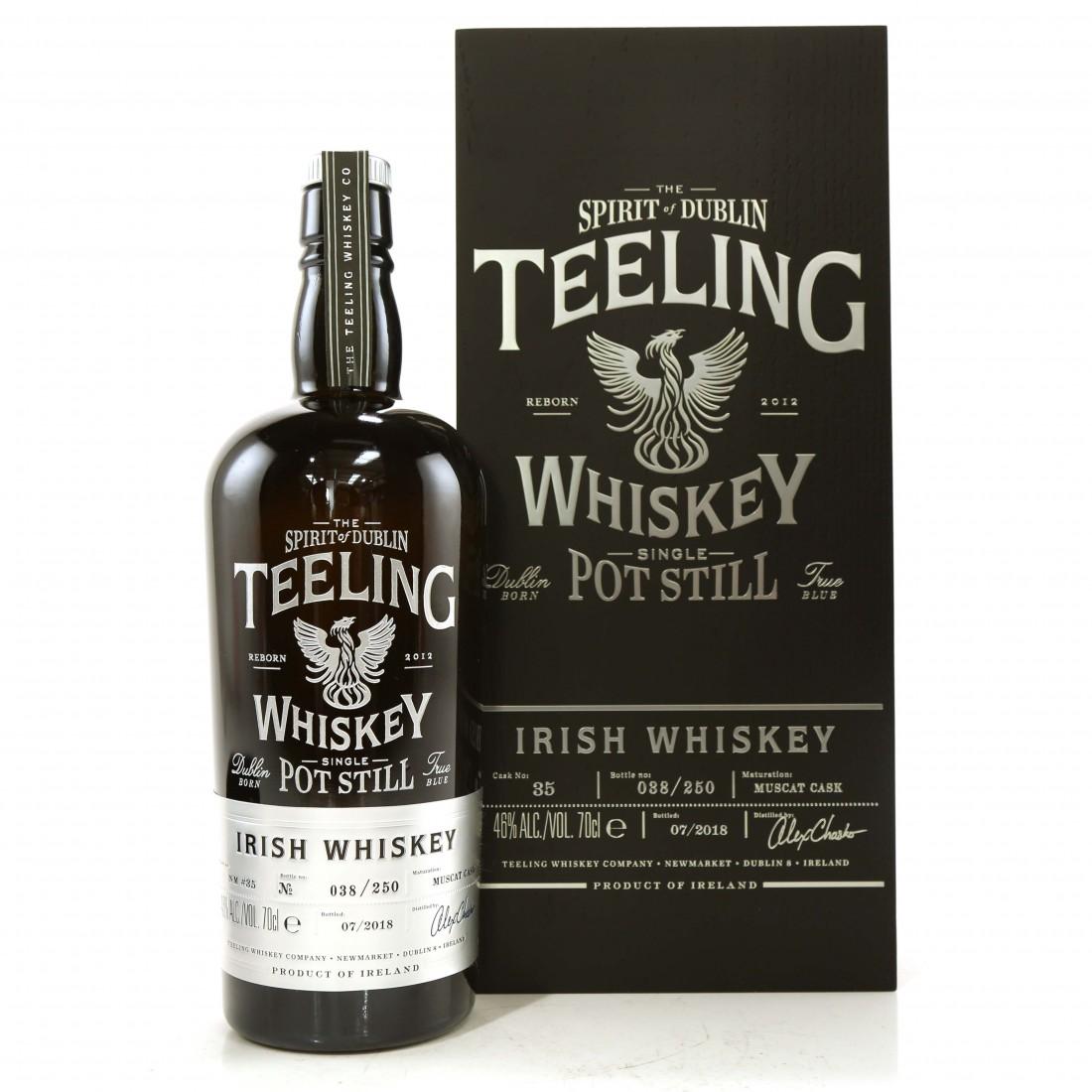 Teeling Celebratory Single Pot Still Whiskey / Bottle #038