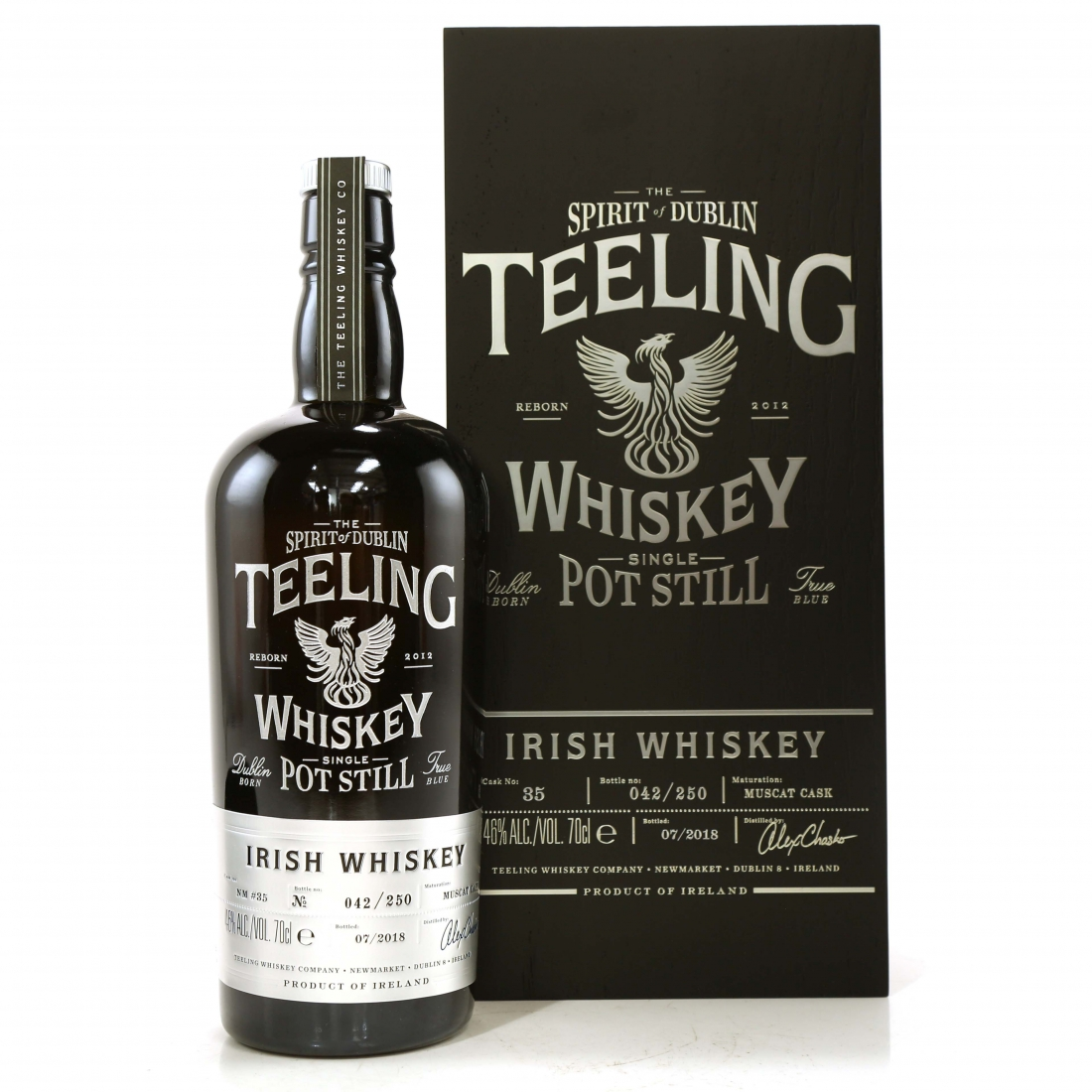 Teeling Celebratory Single Pot Still Whiskey / Bottle #042