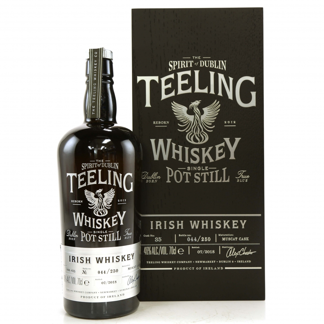 Teeling Celebratory Single Pot Still Whiskey / Bottle #044