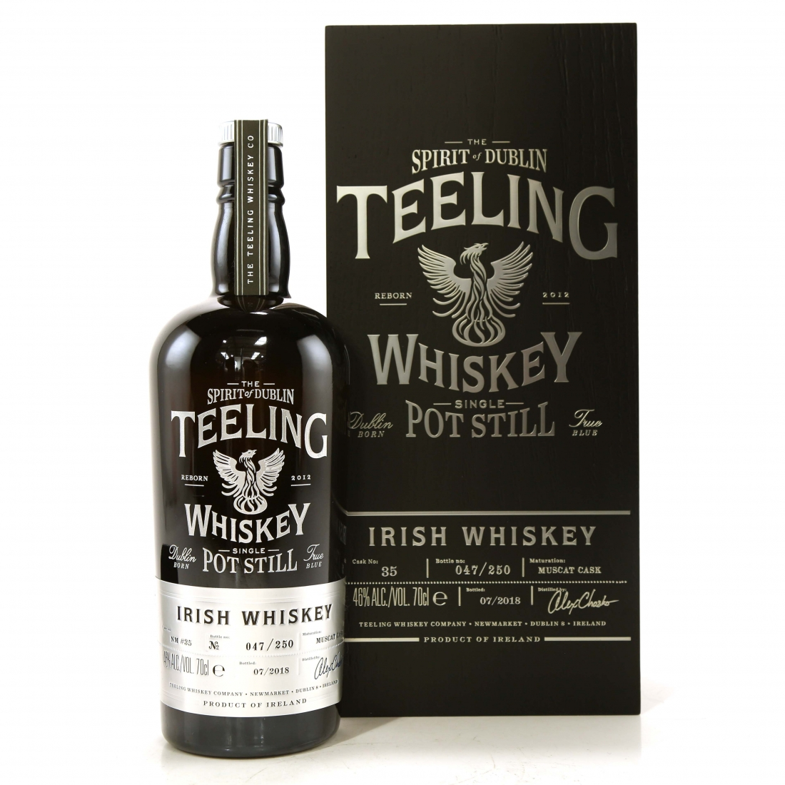 Teeling Celebratory Single Pot Still Whiskey / Bottle #047