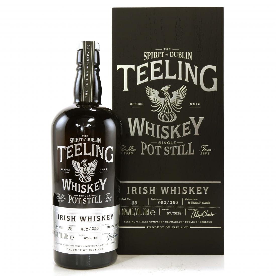 Teeling Celebratory Single Pot Still Whiskey / Bottle #052