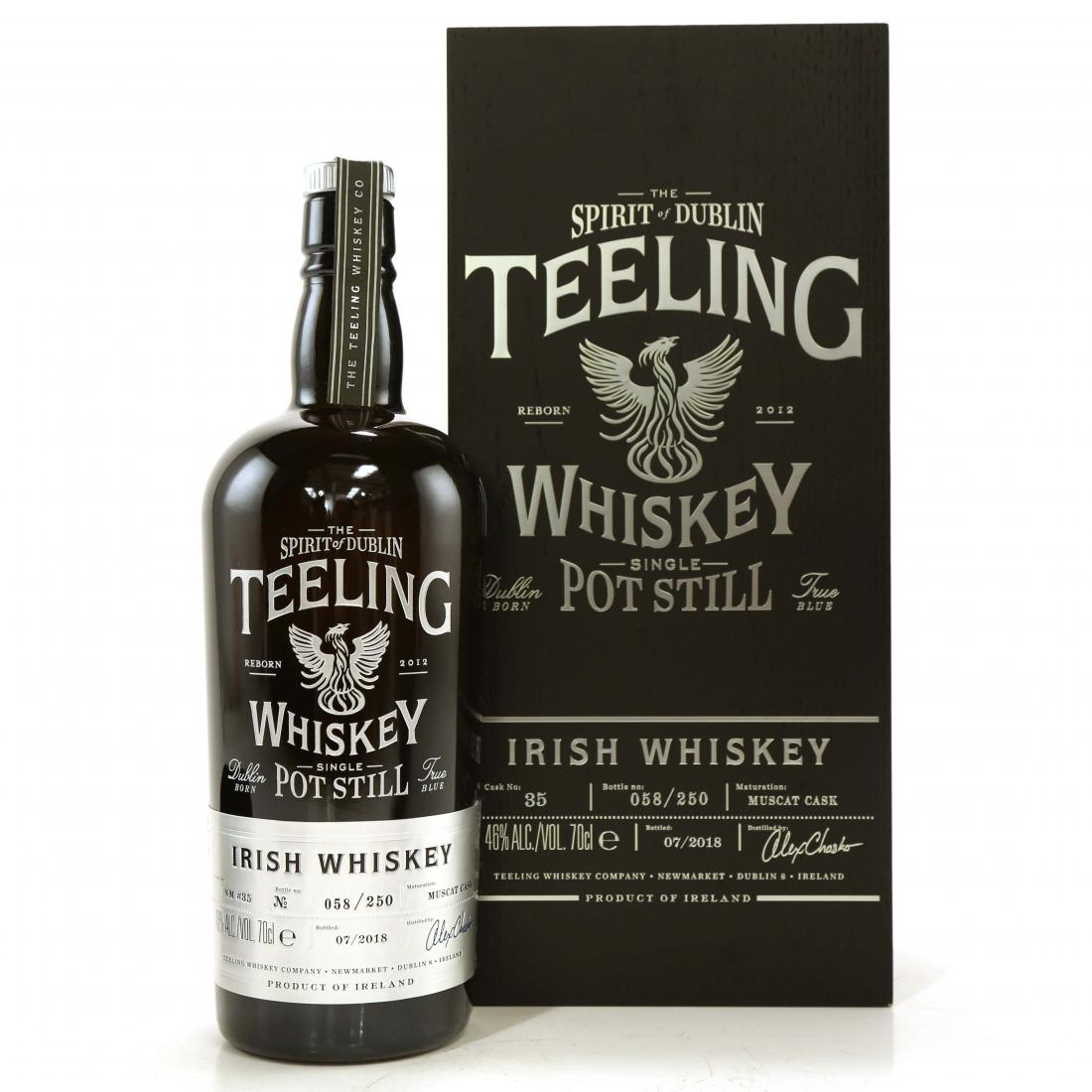 Teeling Celebratory Single Pot Still Whiskey / Bottle #058
