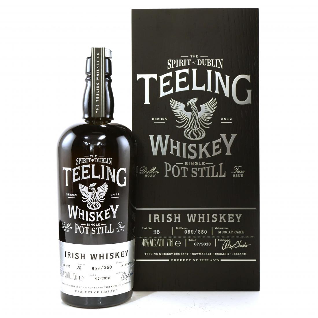 Teeling Celebratory Single Pot Still Whiskey / Bottle #059