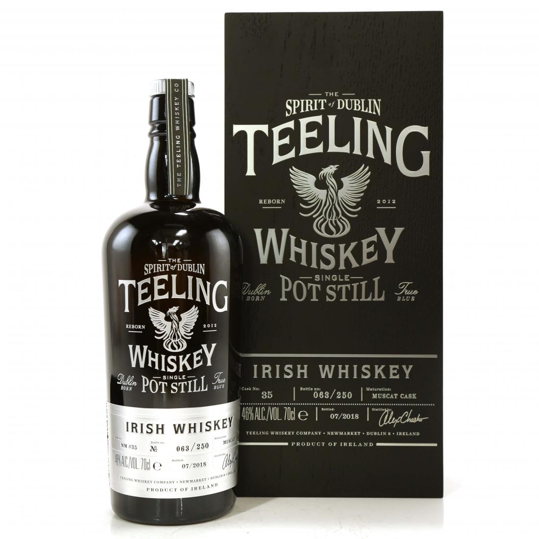 Teeling Celebratory Single Pot Still Whiskey / Bottle #063