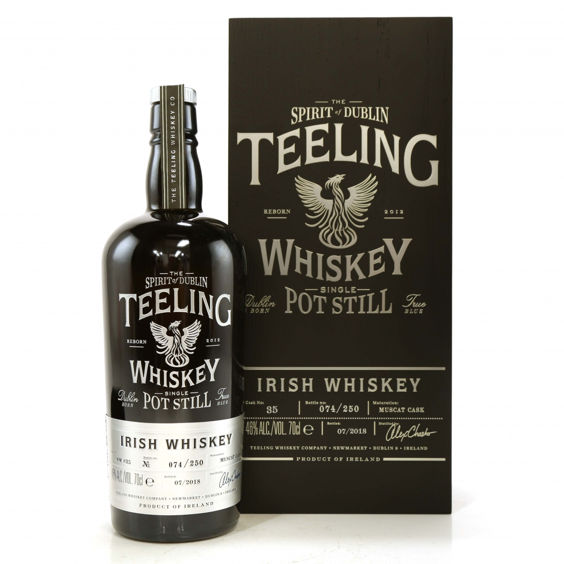 Teeling Celebratory Single Pot Still Whiskey / Bottle #074