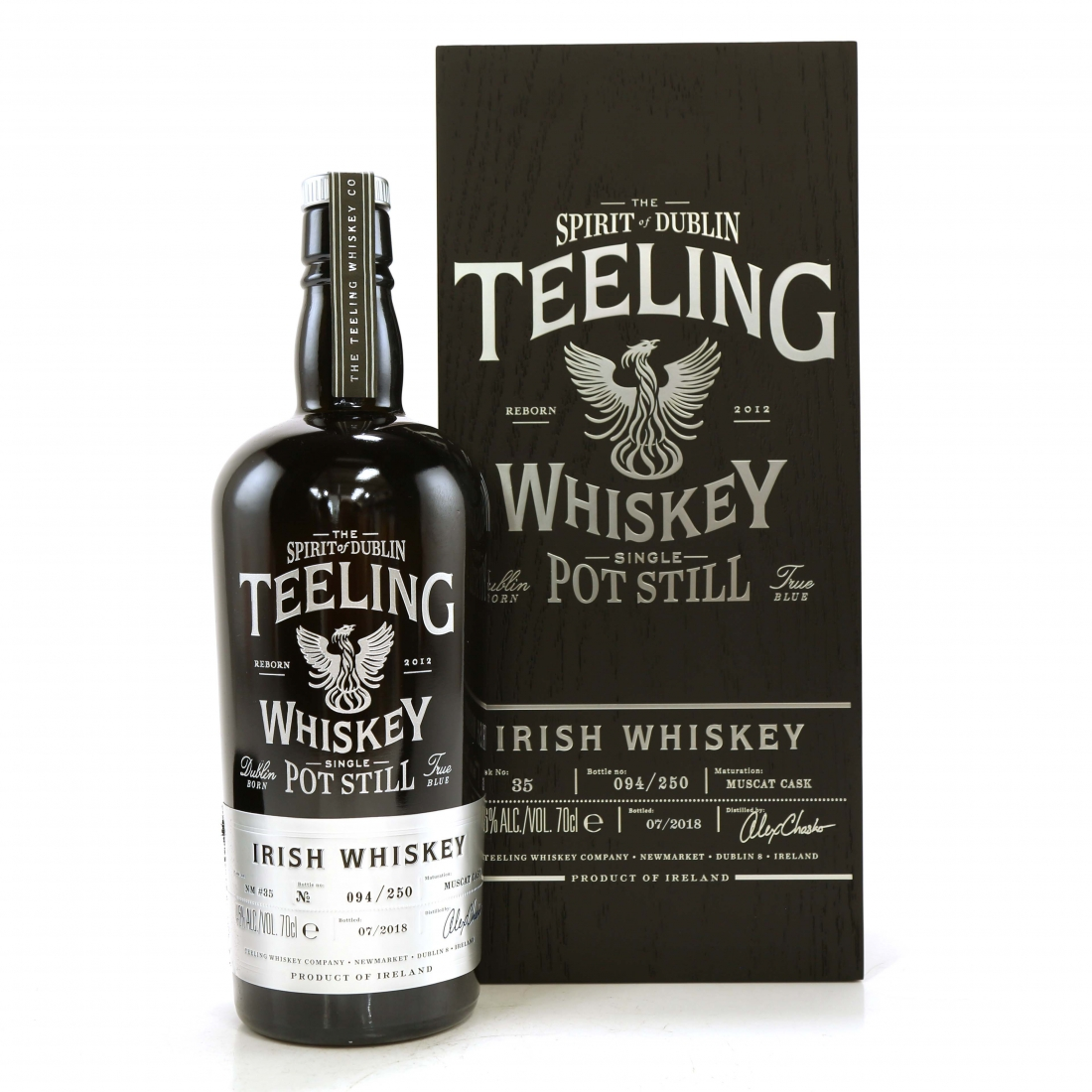 Teeling Celebratory Single Pot Still Whiskey / Bottle #094