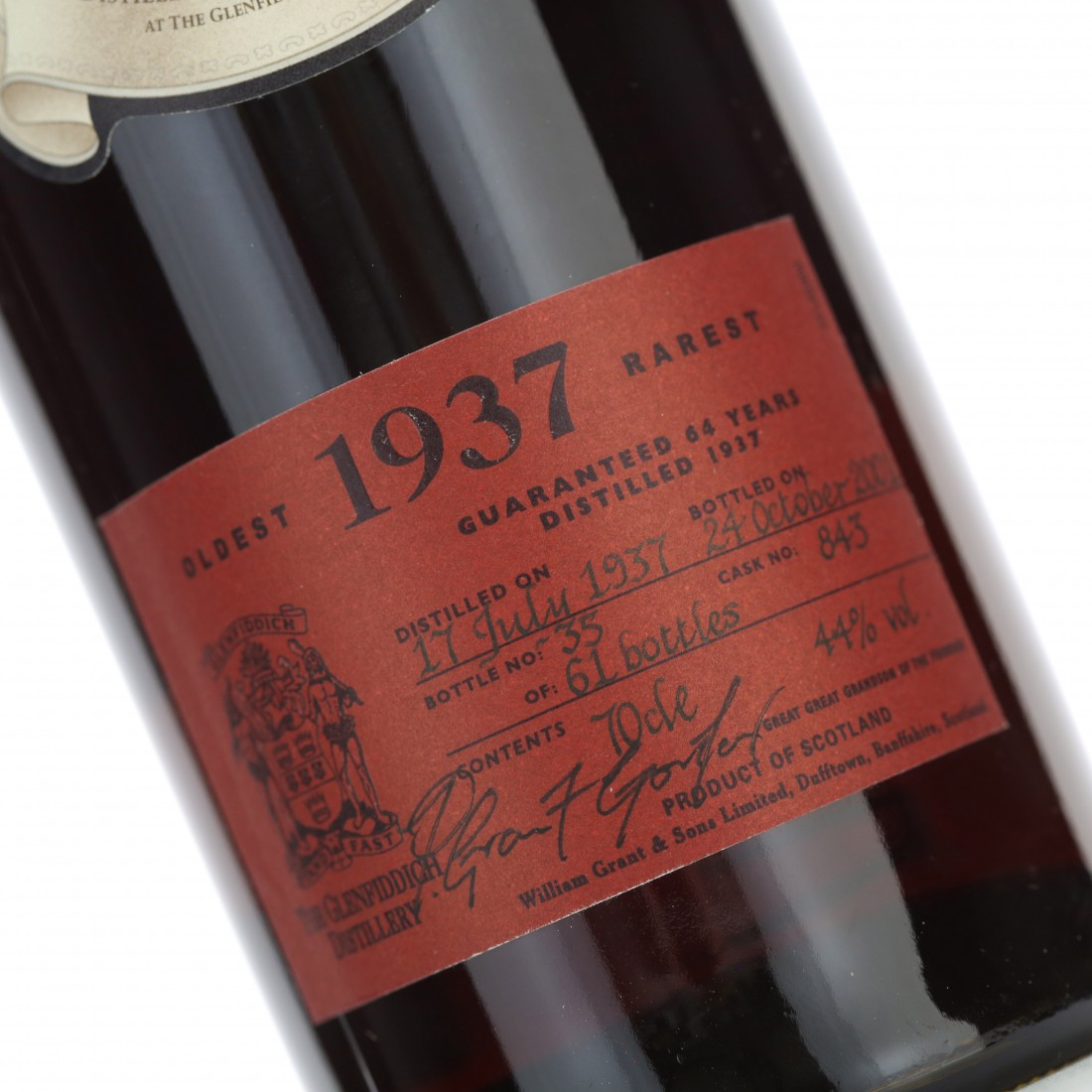 Glenfiddich 1937 Rare Collection 64 Year Old