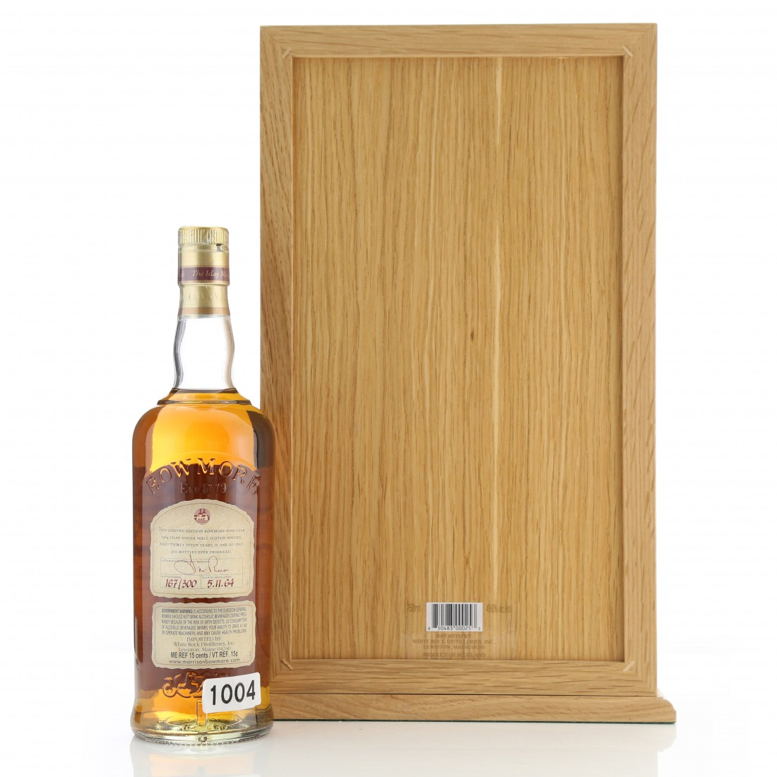 Bowmore 1964 Fino Cask 37 Year Old 75cl / US Import