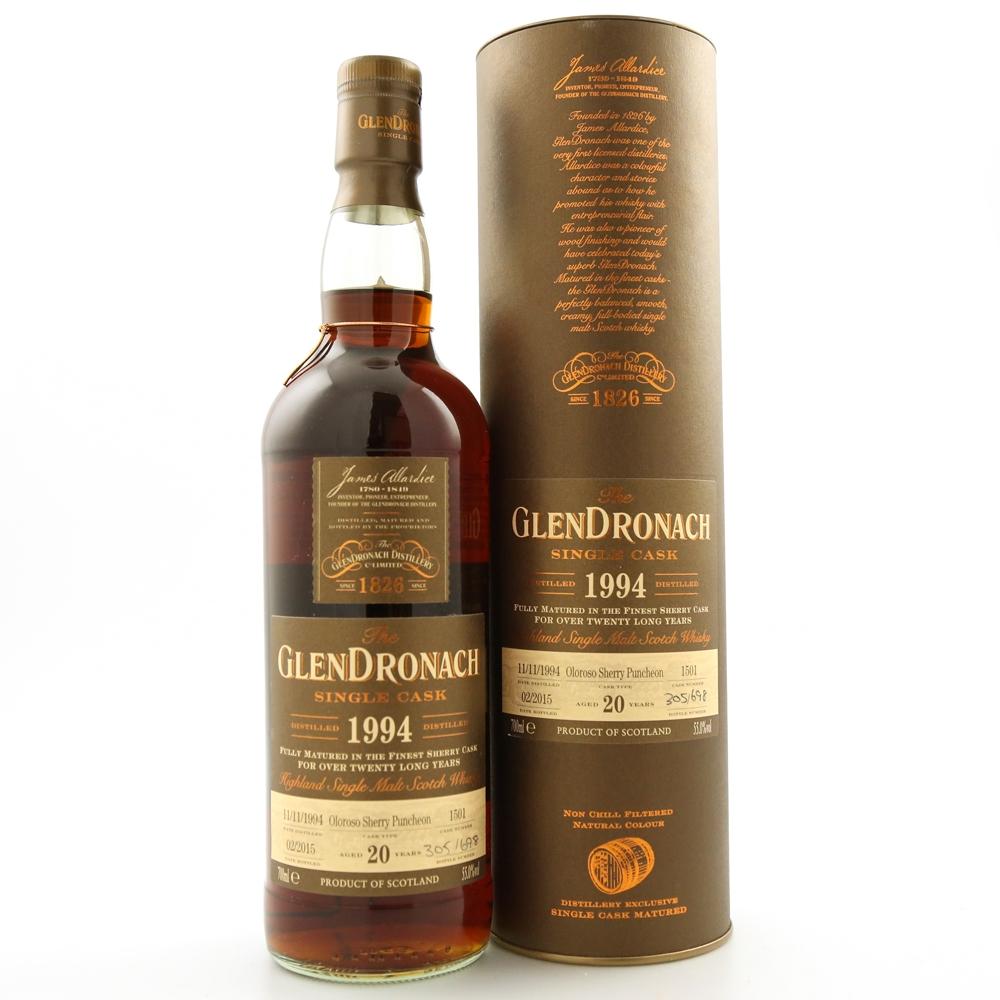 Glendronach 1994 Single Cask 20 Year Old #1501