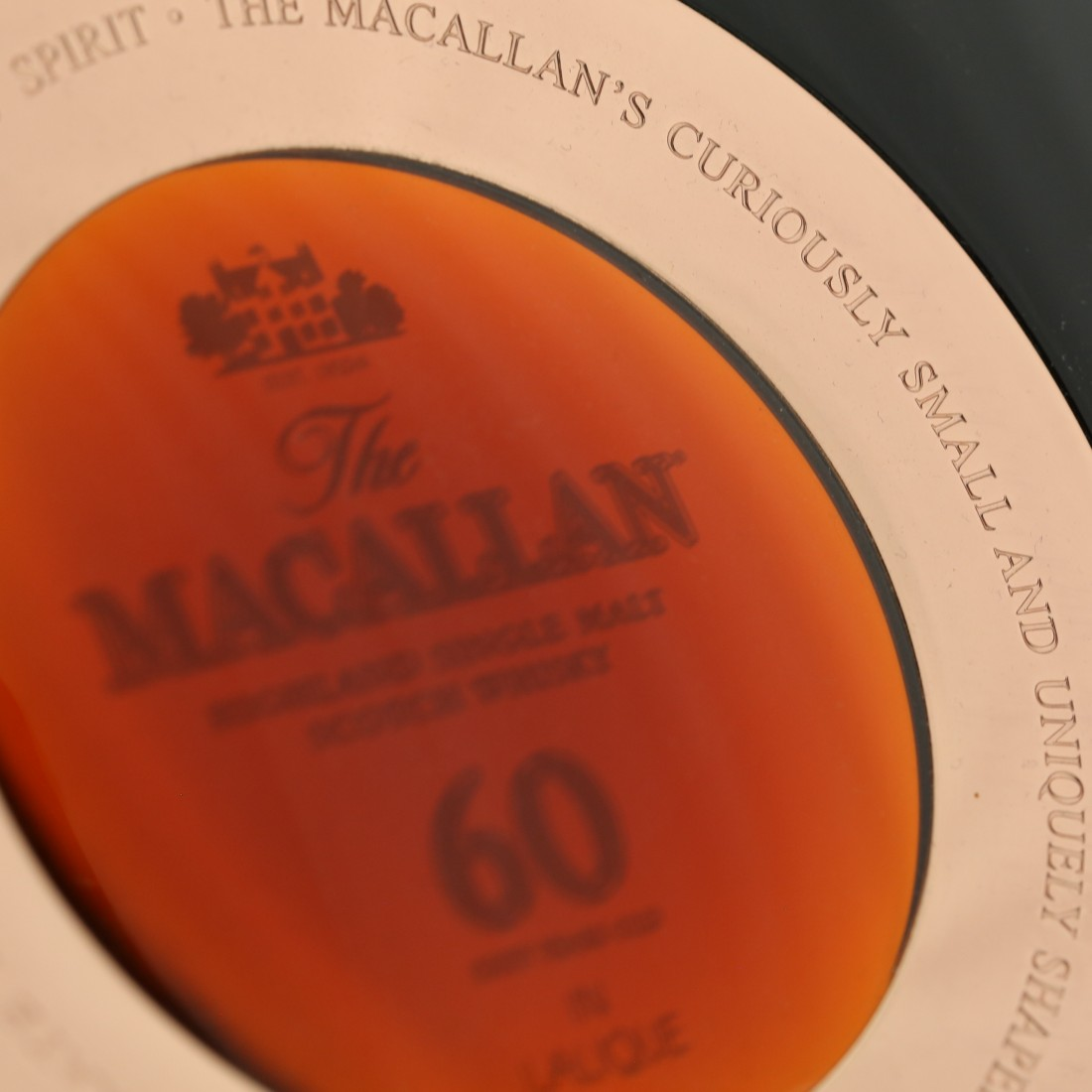 Macallan 60 Year Old Lalique Six Pillars Collection 75cl / US Import