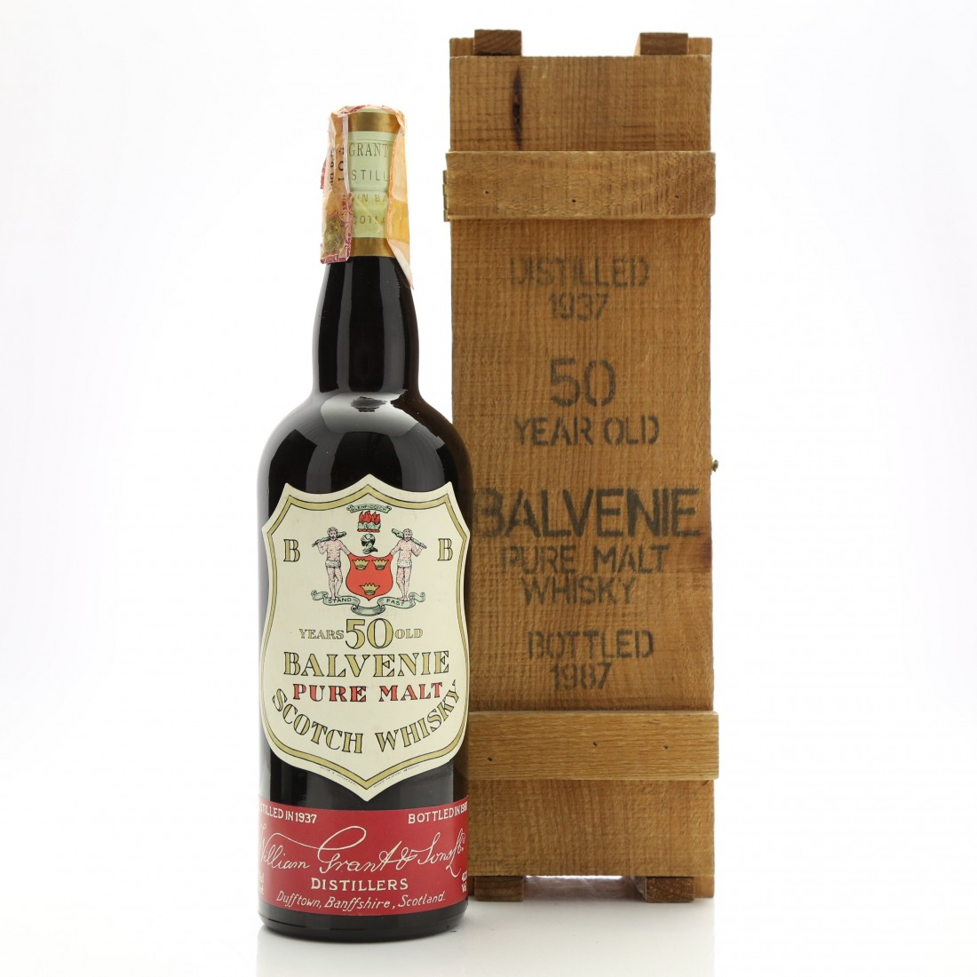 Balvenie 1937 Pure Malt 50 Year Old