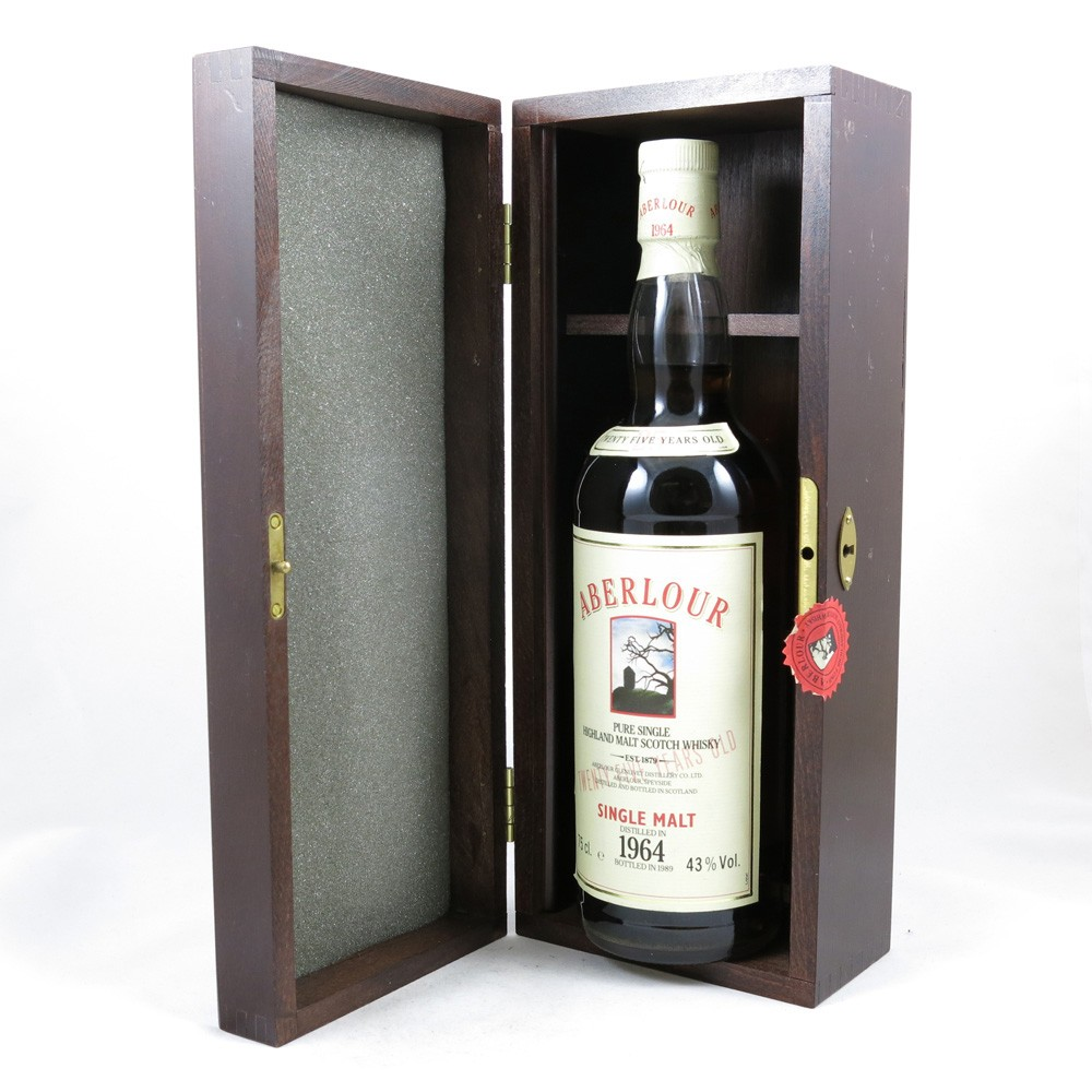 Aberlour 1964 25 Year Old box