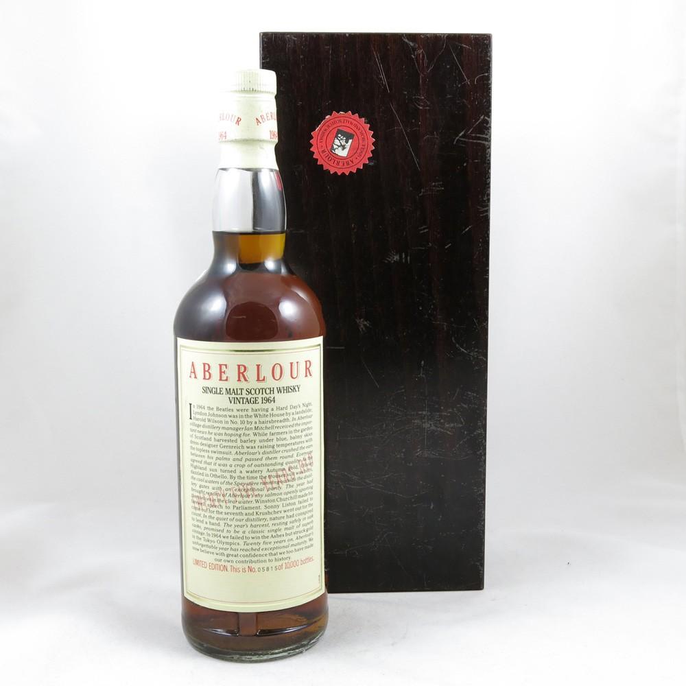 Aberlour 1964 25 Year Old back
