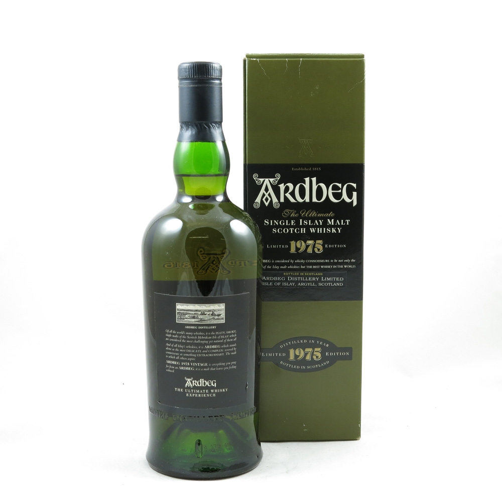 Ardbeg 1975 Bottled 2000 Back