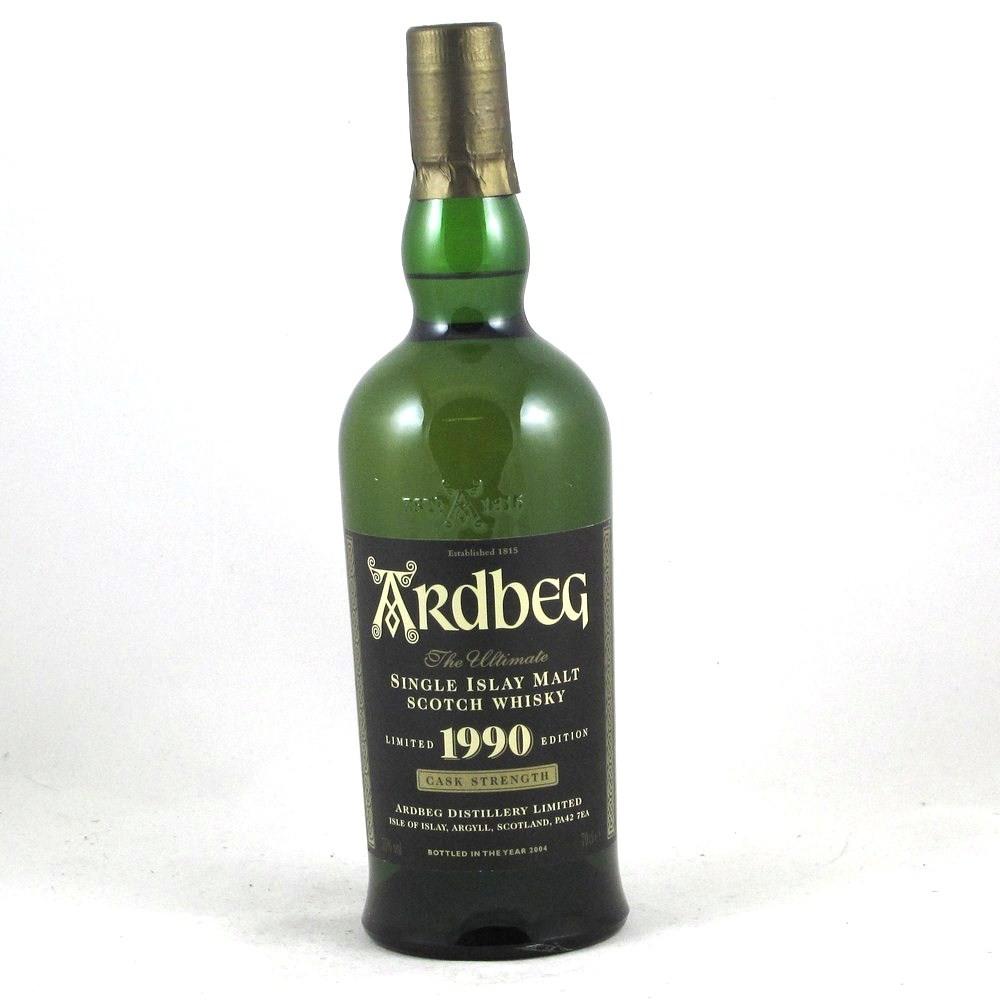Ardbeg 1990 Cask Strength (Bottled 2004) Front