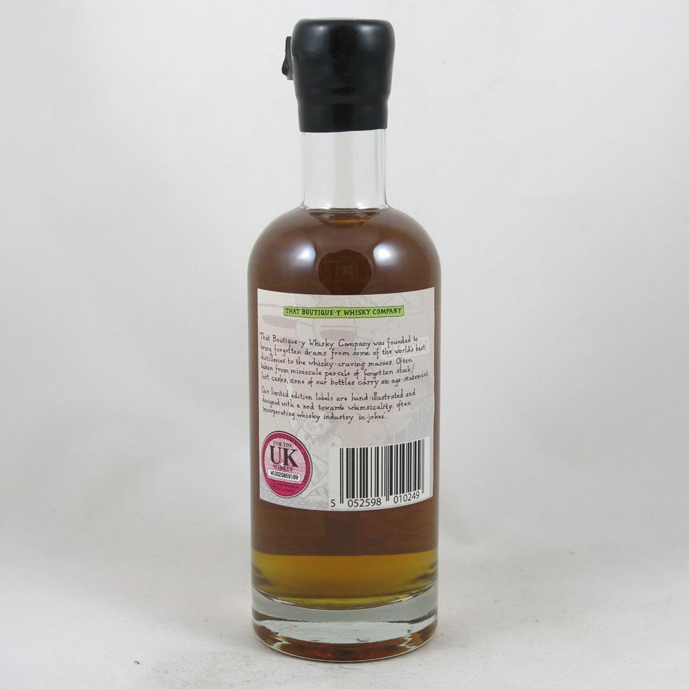 Ardbeg Boutique-y Whisky Company Batch #1 back