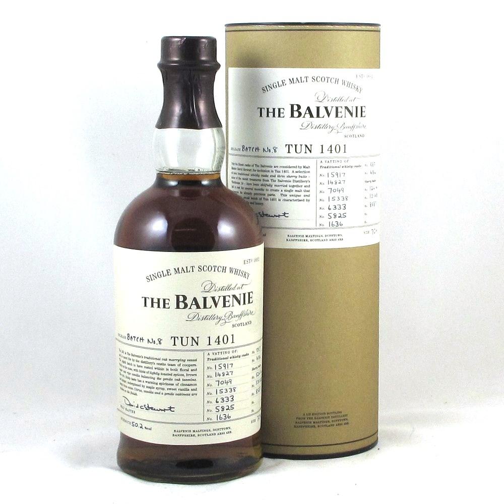 Balvenie Tun 1401 Batch 8 Front