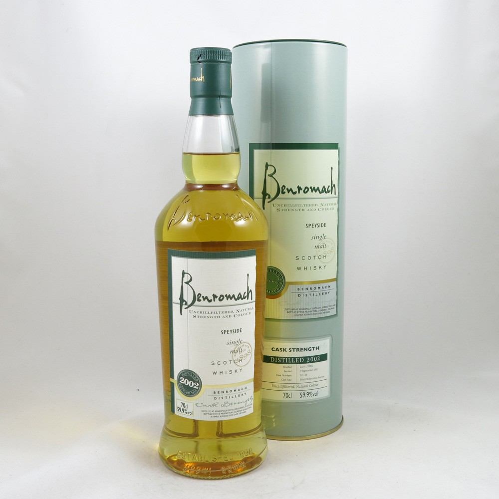 Benromach Cask Strength 2002 Front