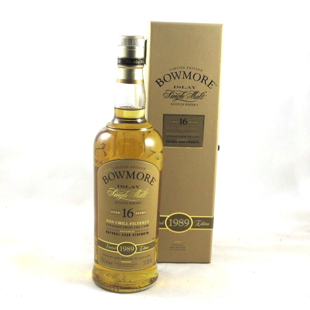 Bowmore 1989 16 Year Old Limited Edition Front