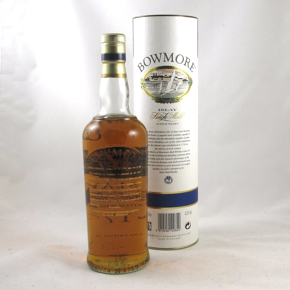 Bowmore 17 Year Old Back