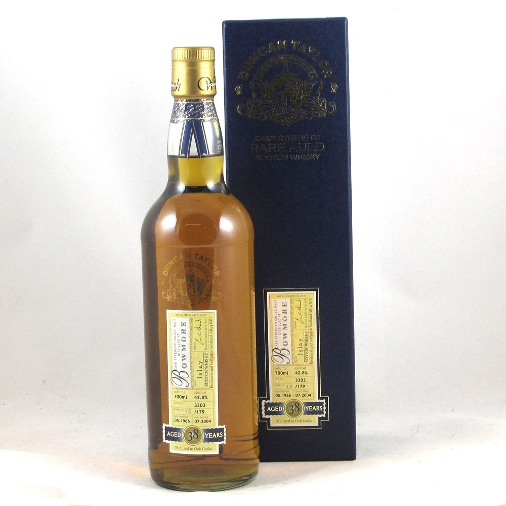 Bowmore 1966 38 Year Old Duncan Taylor Front