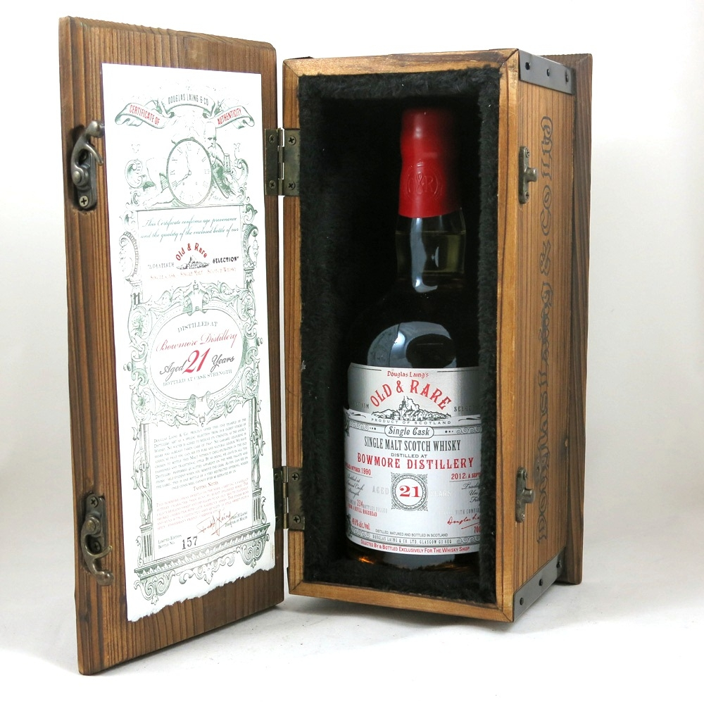 Bowmore 1990 Douglas Laing 21 Year Old Front