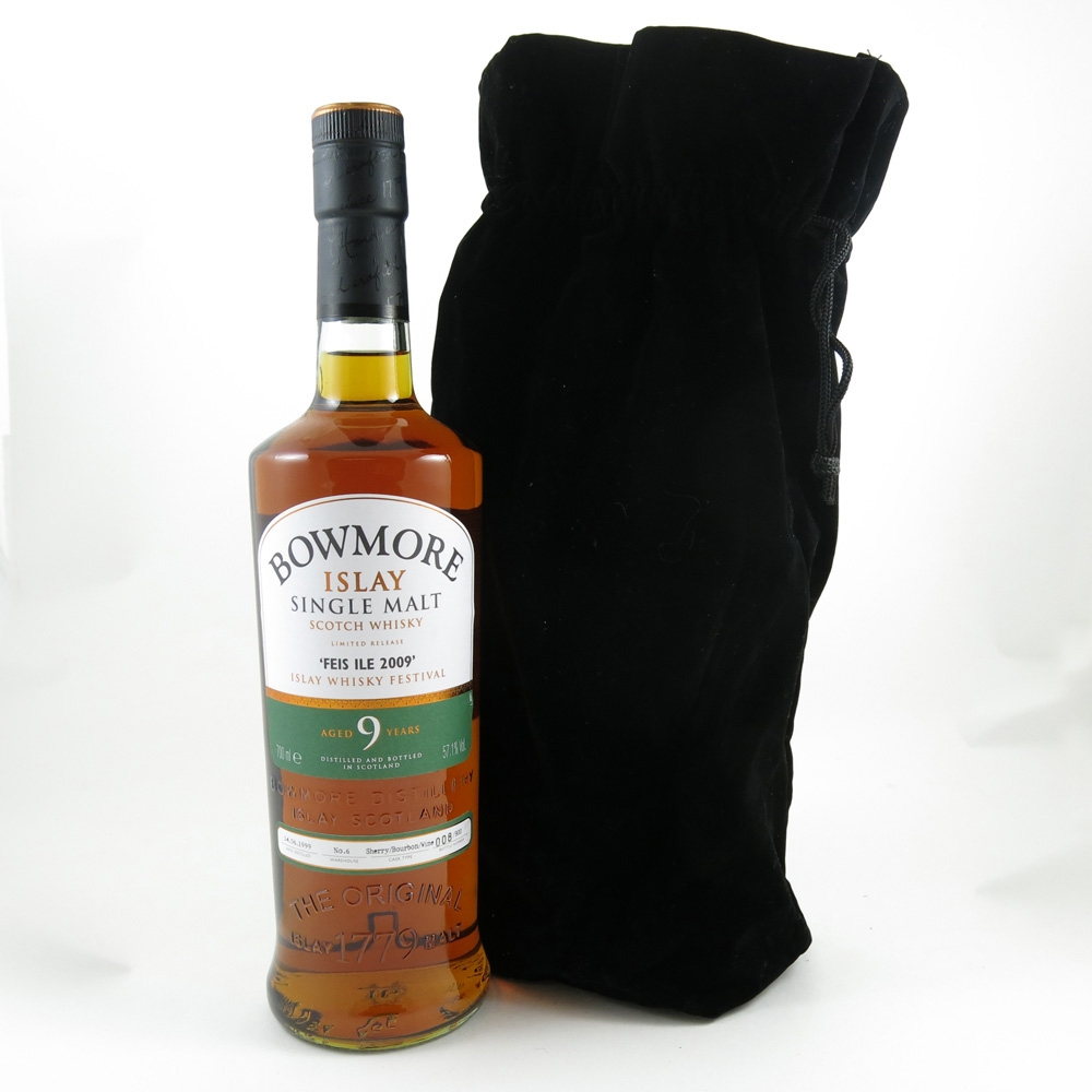Bowmore 1999 Feis Ile 2009 front