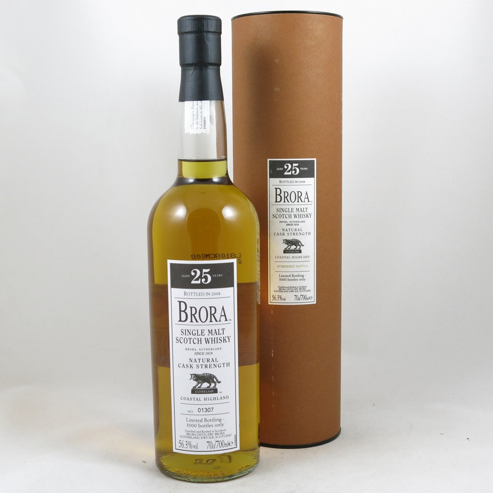Brora 25 Year Old 2008 Release front