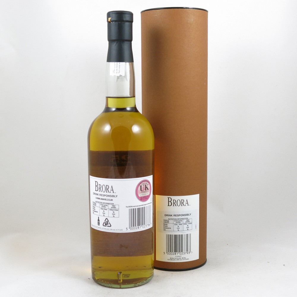 Brora 25 Year Old 2008 Release back