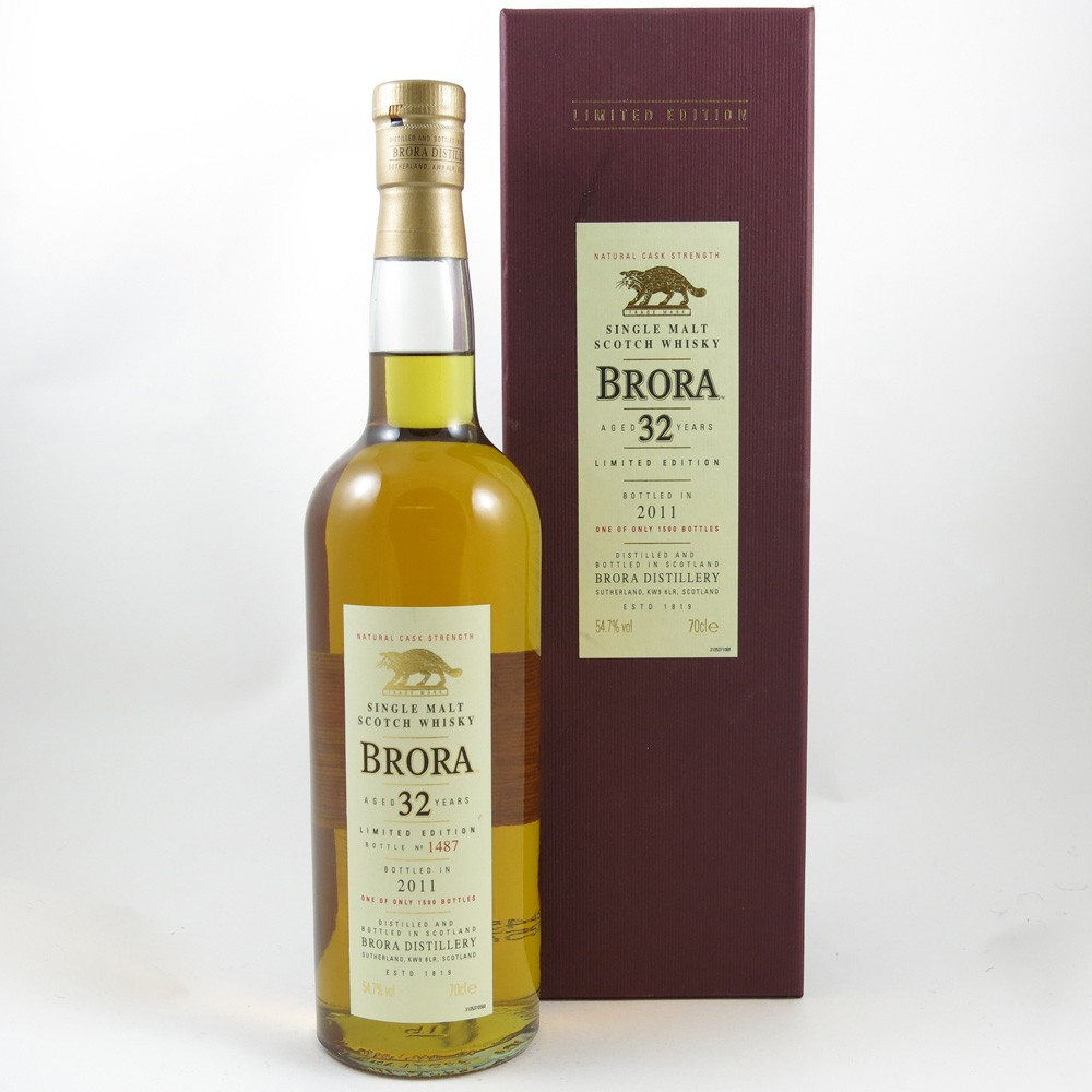 Brora 32 Year Old 2011 Release front