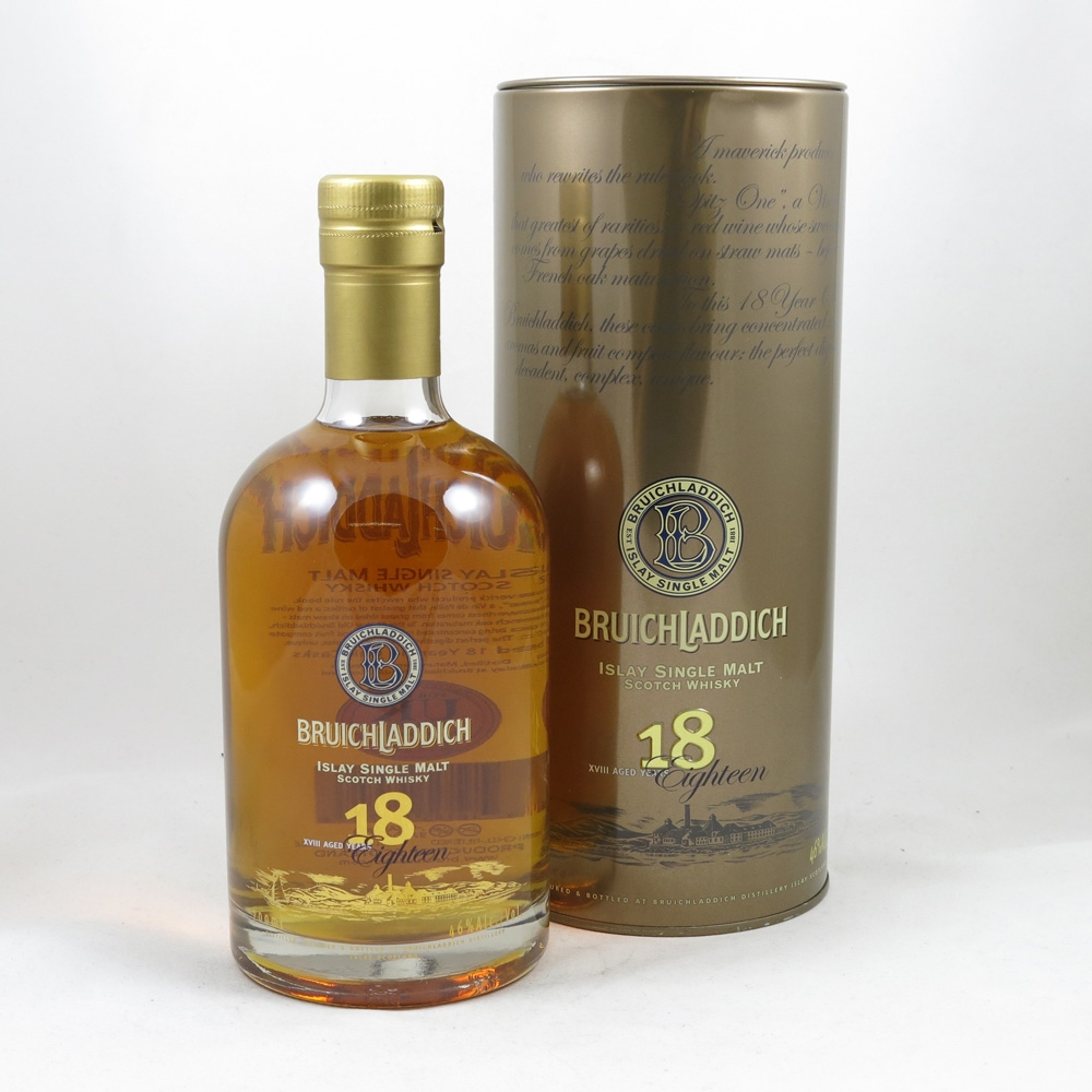 Bruichladdich 18 Year Old 1st Edition front