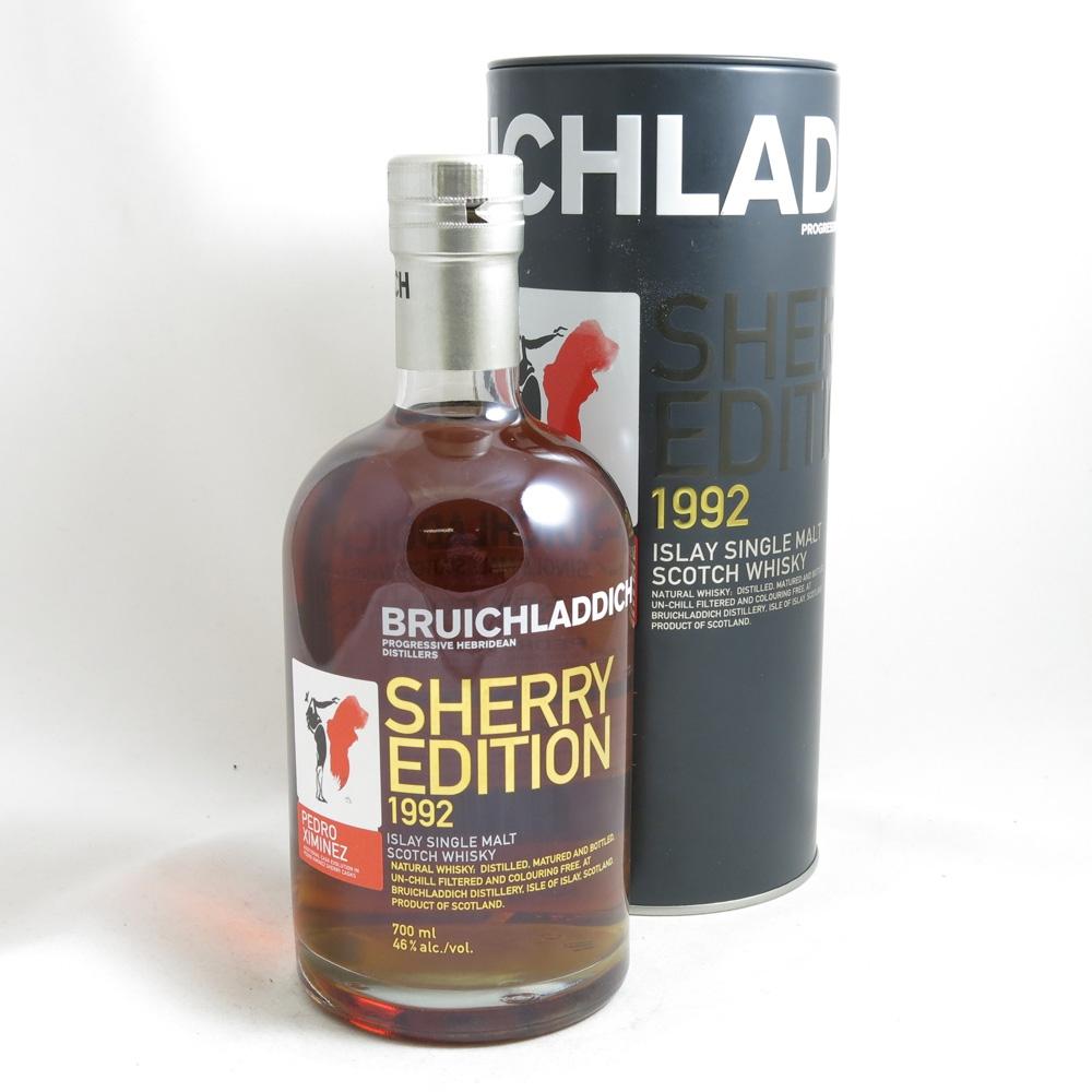 Bruichladdich 1992 Pedro Ximinez Sherry Edition front