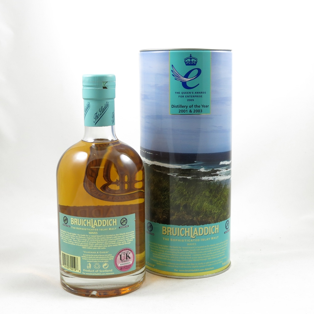 Bruichladdich Waves 1st Edition Back