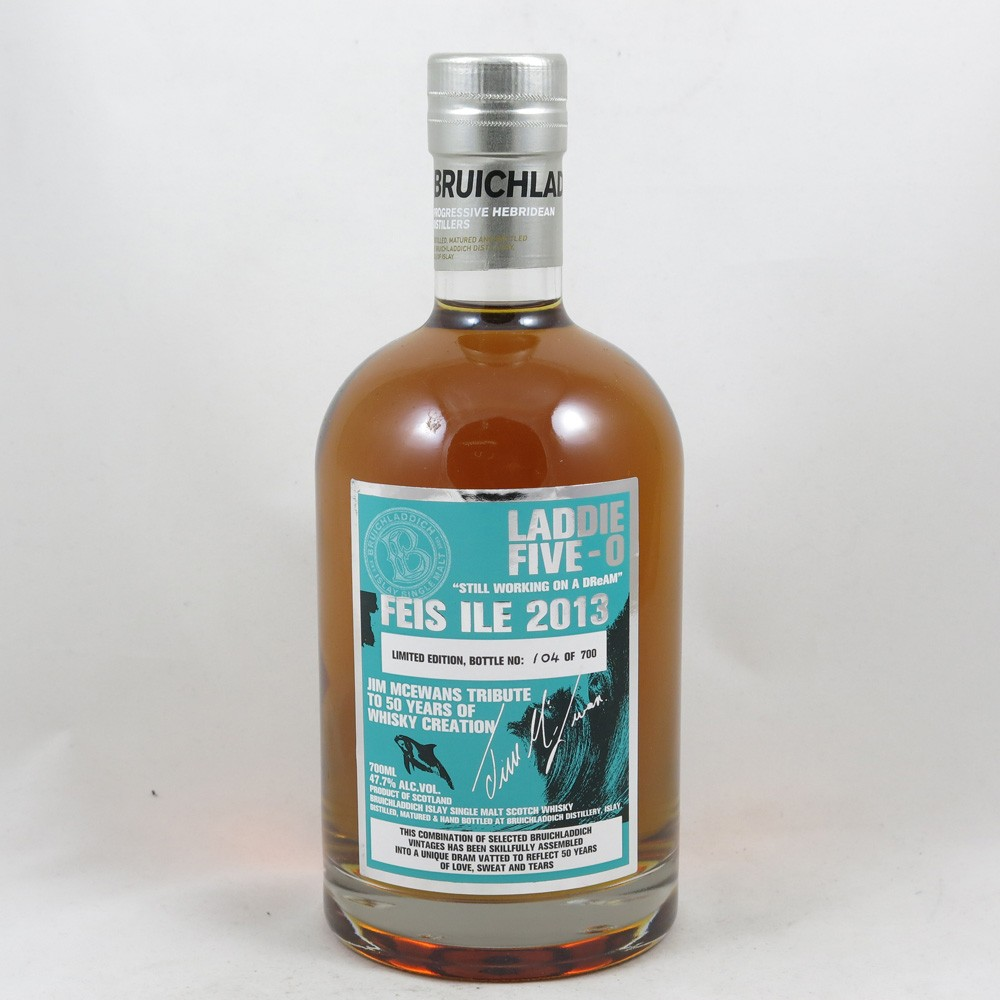 Bruichladdich Laddie Five-0 Feis Ile 2013 front