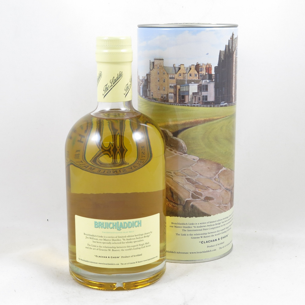 Bruichladdich Links St Andrews Swilican Bridge 50cl Back