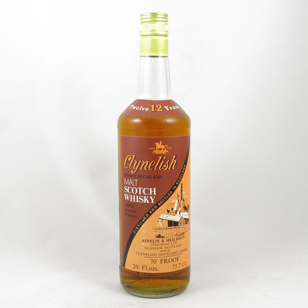 Clynelish 12 Year Old 1970s front